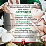 Kelas Persiapan Baptis Bayi Januari 2020