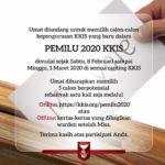 Pemilu KKIS 2020