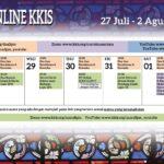 Acara Online KKIS 27 Juli – 2 Agustus 2020
