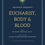 AmoreDio Night – EUCHARIST, BODY AND BLOOD