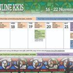 Berikut adalah kalendar daftar acara online KKIS 16-22 November 2020.