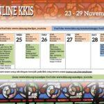 Acara Online KKIS 23 – 29 November 2020